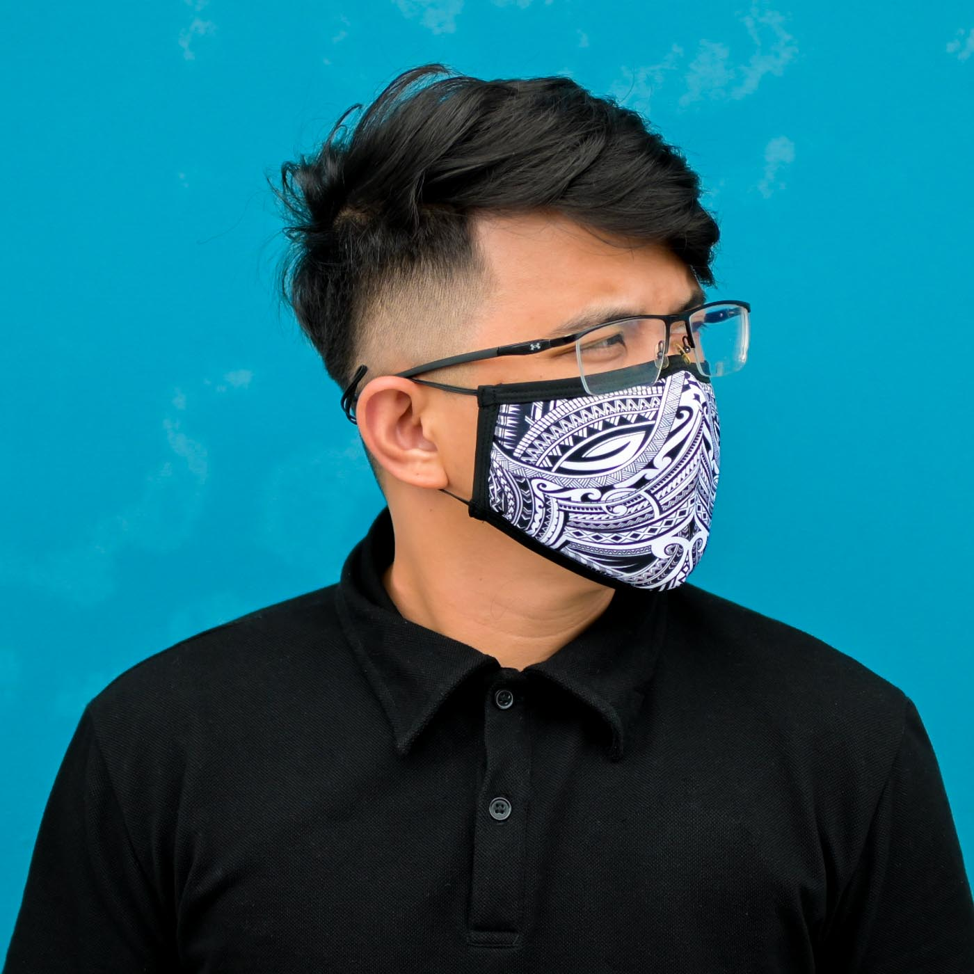 Customized Full Sublimation Face Masks Face Coverings