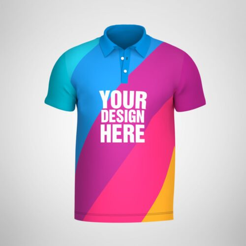 Custom Sublimated Polo Shirt Design
