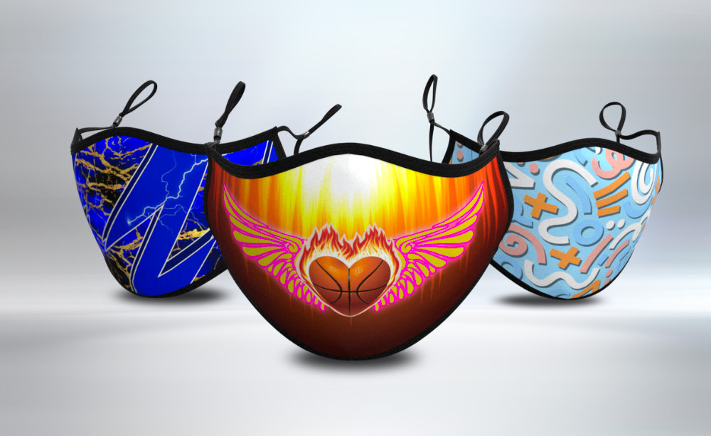 3D Face Mask Mockups