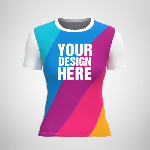 Custom Sublimation Women's T-Shirt
