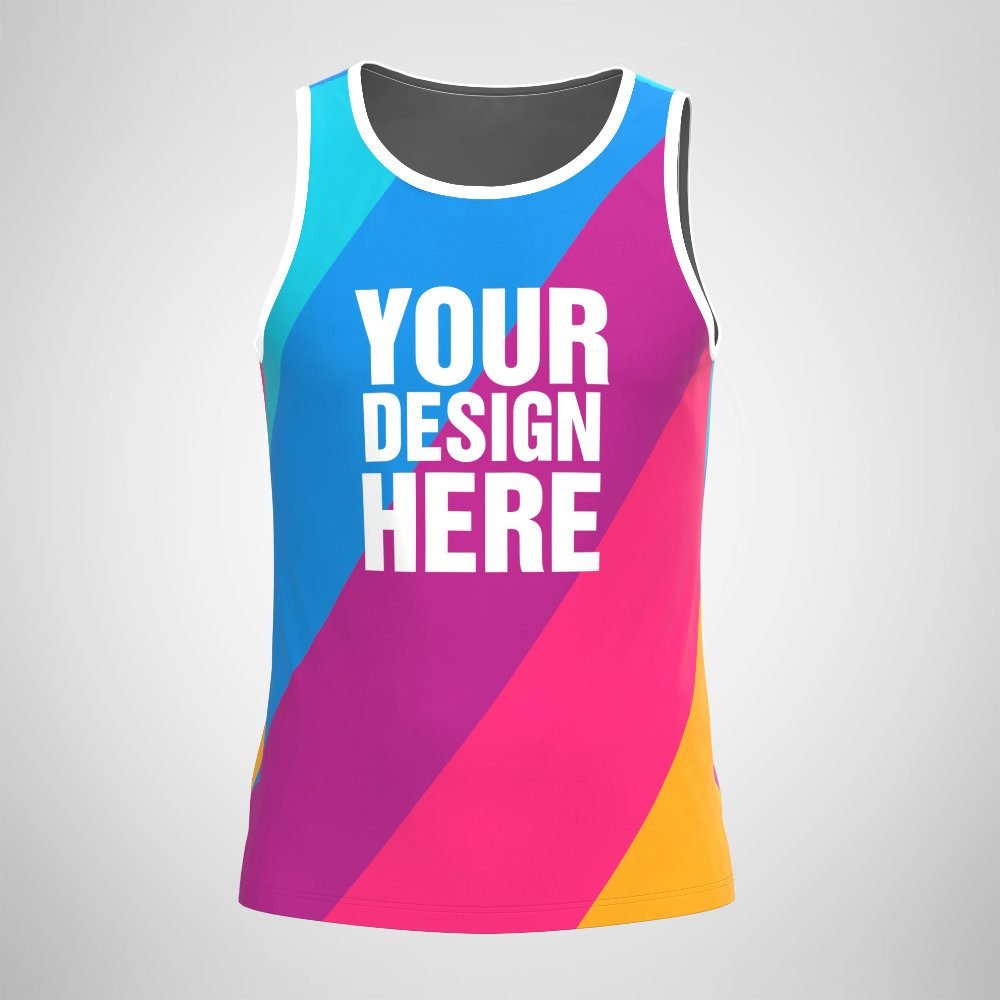 Sublimated Men's Tank Top Print on Demand