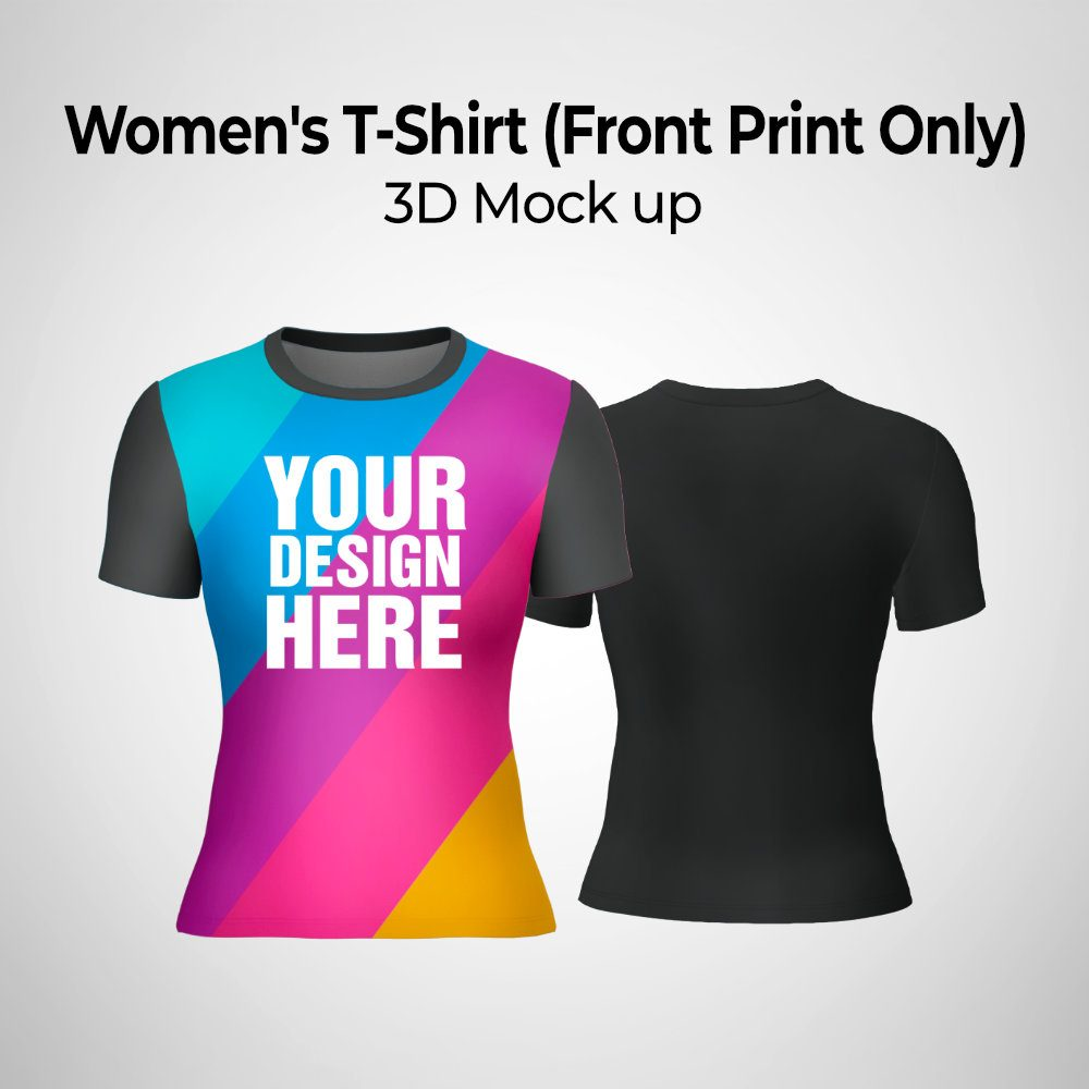 Womens T-Shirt (Front Print Only)