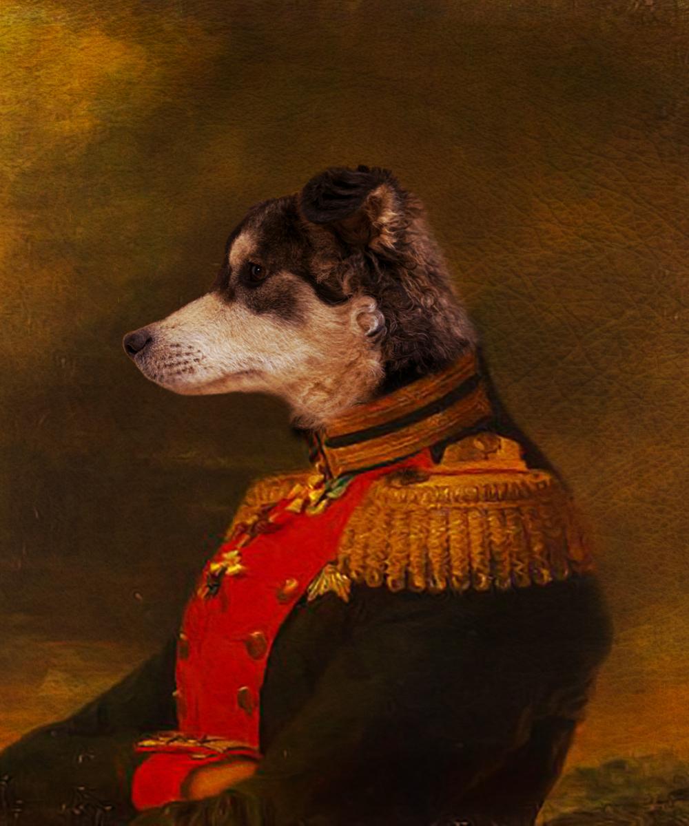 Labrador Retriever Royal Portrait