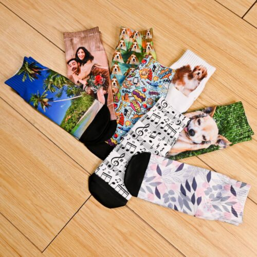 Customized Sublimation Socks