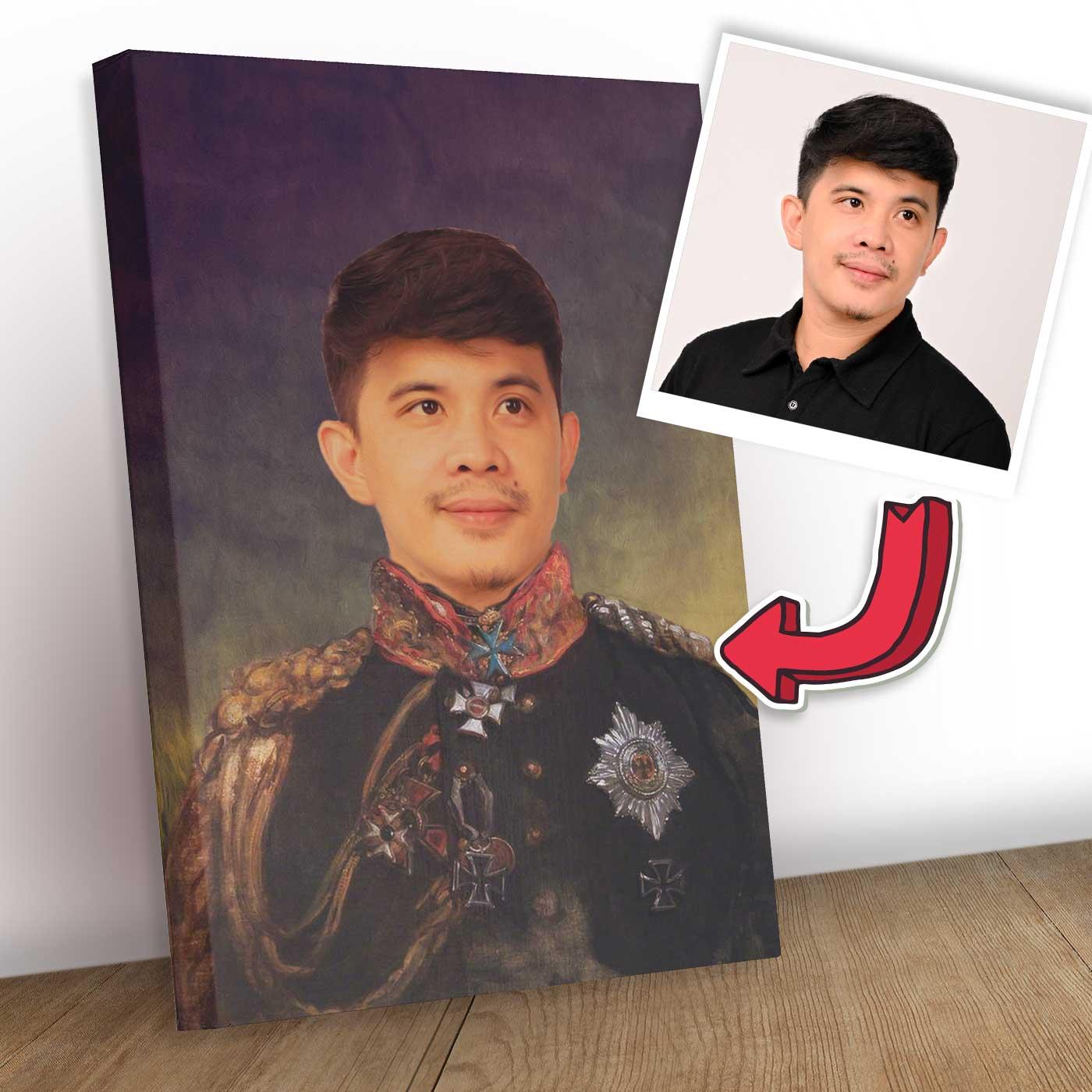 Royal Human Portrait