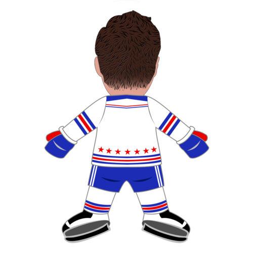 Hockey Player Human Doll Pillow