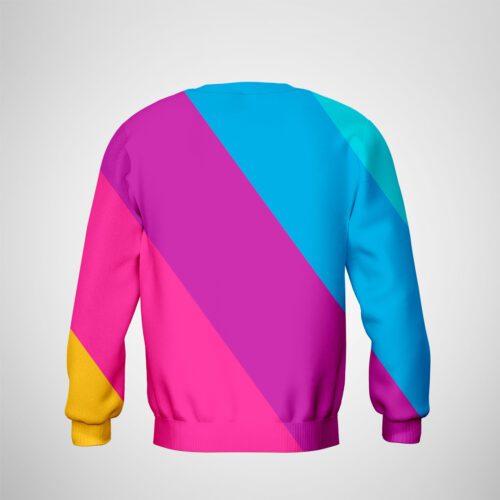 Full Sublimation Men's Sweatshirt