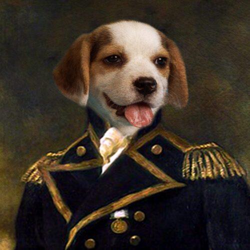 Beagle Royal Pet Portraits