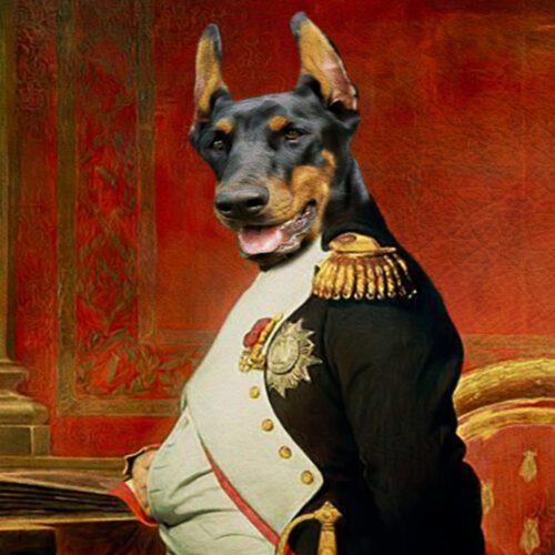 Dobermann Royal Pet Portraits