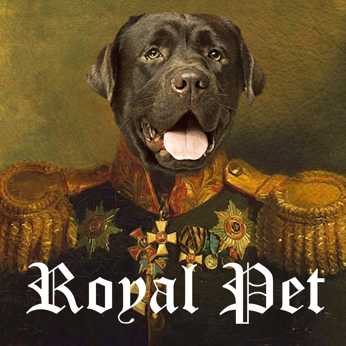 Royal Pet Portrait: Dog and Cat Royal Paintings