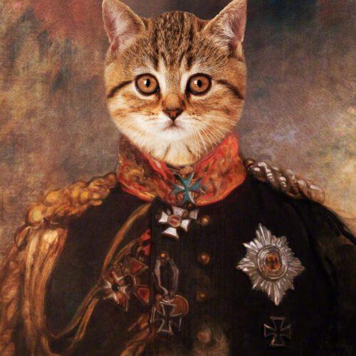 Cat Royal Portrait