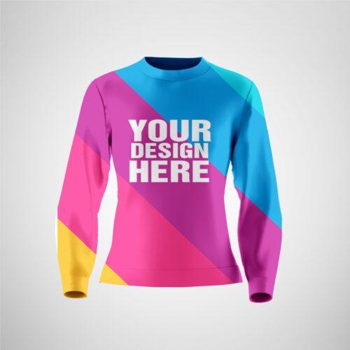 Full Sublimation Women's Sweatshirt