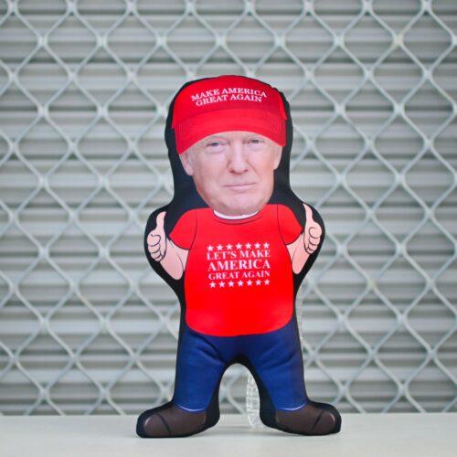 Donald Trump Mini Me Human Doll Pillow - Make American Great Again