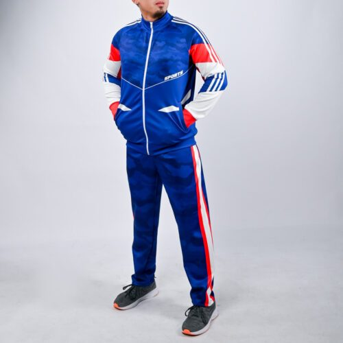 Customized Full Sublimation Men's Tracksuit Warmup
