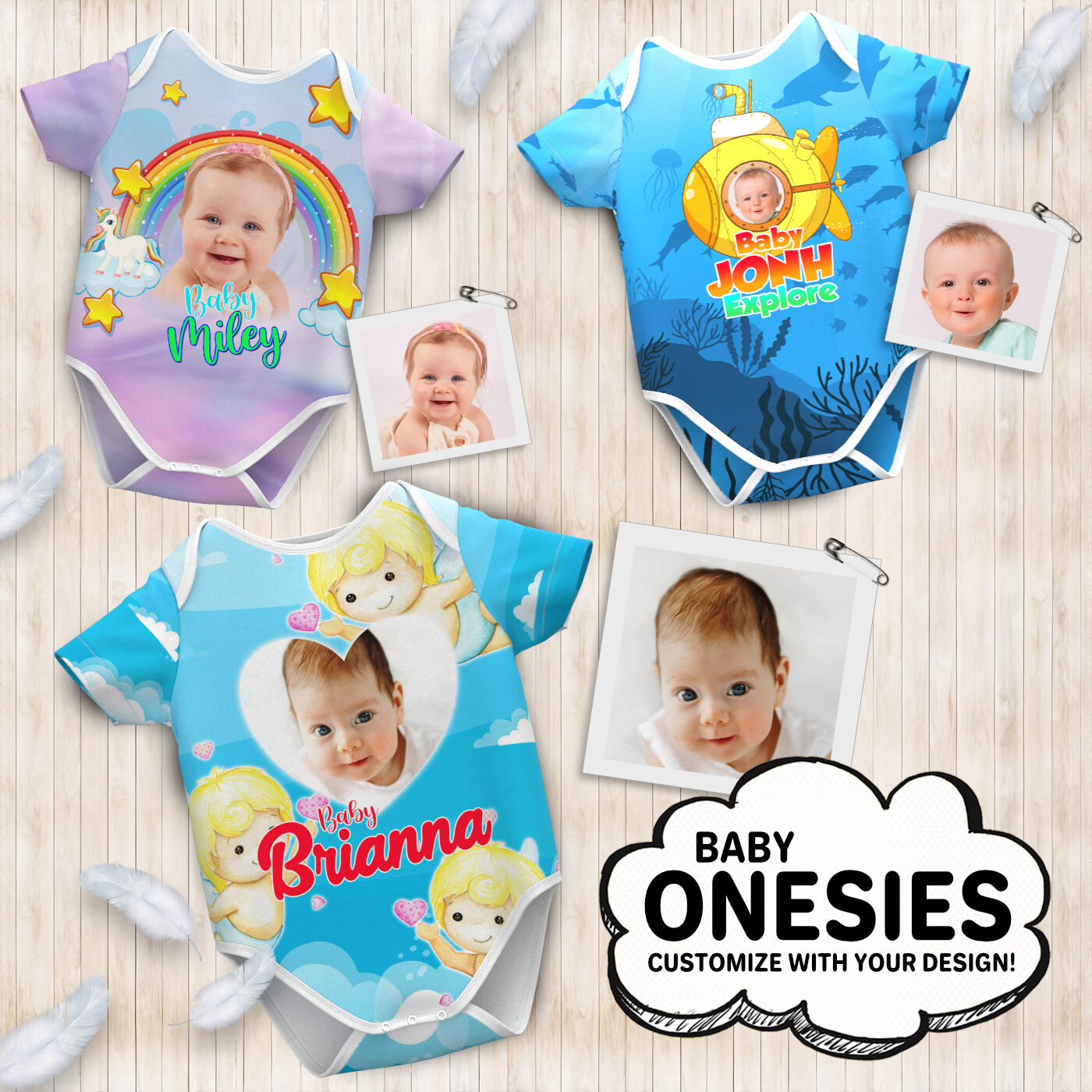 Baby Clothes Dropshipping Baby Onesie Infant Bodysuit