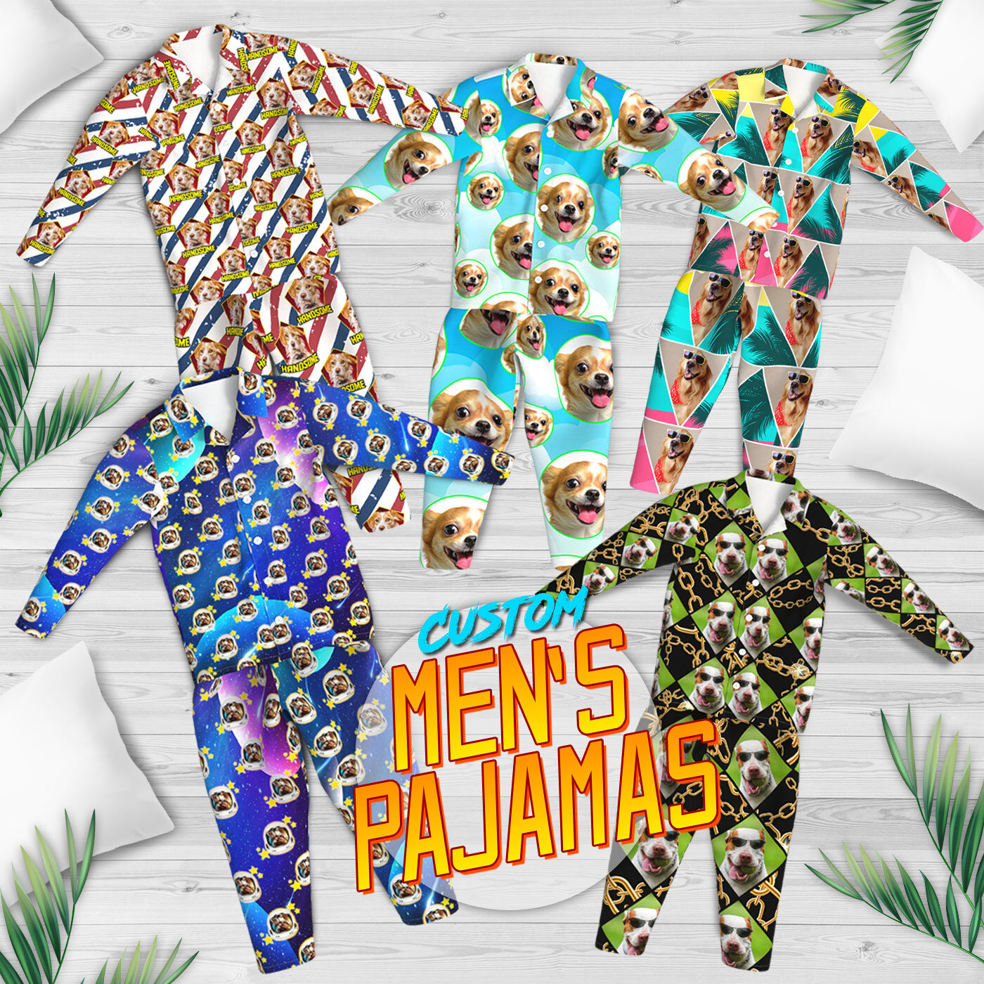Custom Face and Photo Pajamas