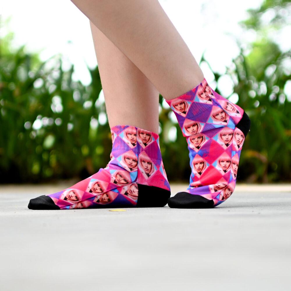 Sell Custom Face Socks